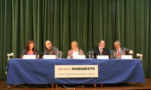 Humanist NHS debate panel photo compressed