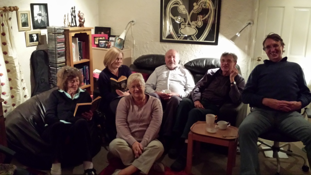 Book Club. Jean, Belinda, Mary, Keith, Tony, not sure 20131014 _ C