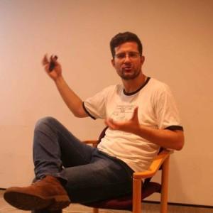 Chris Moos at meeting